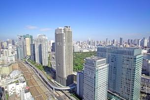 世界貿易センタービルから見た汐留ビル街の写真素材 [FYI01661699]