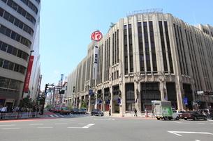 新宿伊勢丹デパートの写真素材 [FYI01661712]