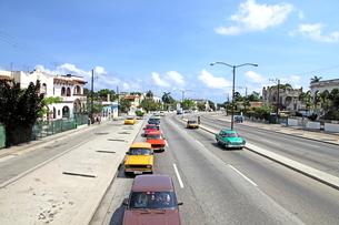 ハバナ市内の写真素材 [FYI01661855]