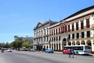 ハバナ旧市街の写真素材 [FYI01661865]