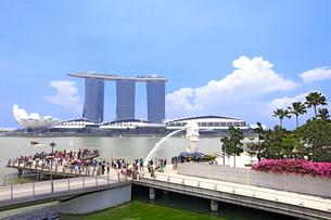 シンガポール マーライオン公園の写真素材 [FYI01661921]