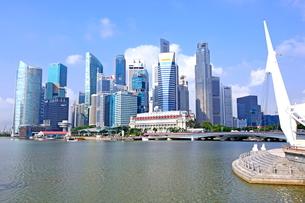 シンガポールのビル街の写真素材 [FYI01661946]