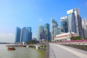 シンガポール マーライオン公園の写真素材 [FYI01661964]