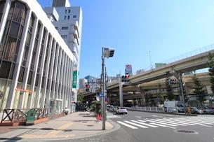一の橋交差点の写真素材 [FYI01661991]