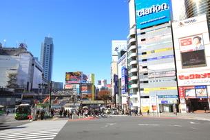 宮益坂下交差点の写真素材 [FYI01662005]