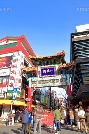 横浜中華街の写真素材 [FYI01662148]