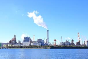 京浜工業地帯の写真素材 [FYI01662165]