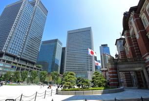 東京駅前広場の写真素材 [FYI01662253]