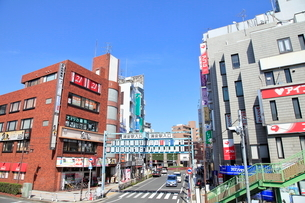 浦安駅入口の写真素材 [FYI01662284]