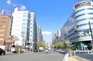 入船橋交差点 中央区の写真素材 [FYI01662405]