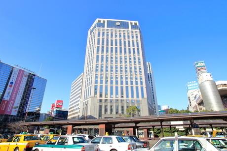 横浜駅西口前の写真素材 [FYI01662453]