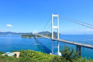 しまなみ海道 来島海峡大橋の写真素材 [FYI01662462]