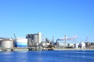 京浜工業地帯の写真素材 [FYI01662531]