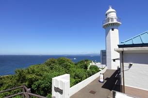 観音崎灯台の写真素材 [FYI01662572]
