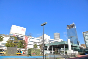 川崎駅東口の写真素材 [FYI01662597]
