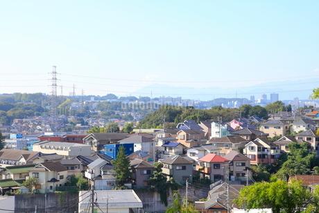 国分寺駅周辺の住宅街の写真素材 [FYI01662660]