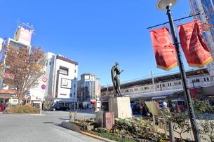 自由が丘駅の写真素材 [FYI01662720]