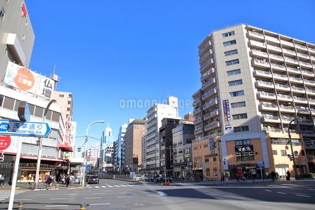 寿四丁目交差点の写真素材 [FYI01662774]