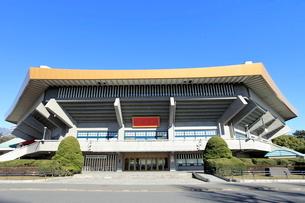 日本武道館の写真素材 [FYI01662898]