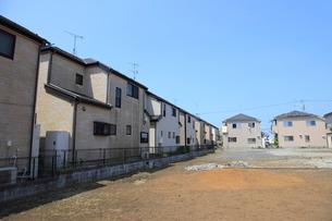 新興住宅街の家並みの写真素材 [FYI01662959]