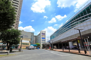 石神井公園駅の写真素材 [FYI01662976]