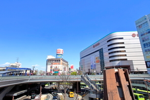 川口駅 埼玉県の写真素材 [FYI01663010]