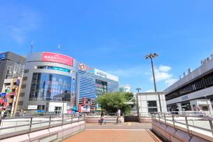 大宮駅西口 さいたま市の写真素材 [FYI01663026]