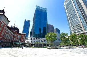 東京駅前広場の写真素材 [FYI01663034]