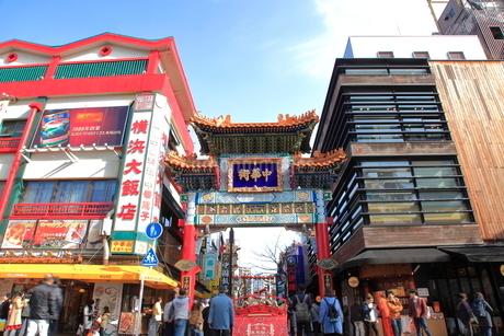 横浜中華街の写真素材 [FYI01663086]
