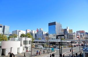 川崎駅東口の写真素材 [FYI01663155]