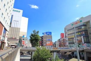 立川駅南口 中央線の写真素材 [FYI01663178]