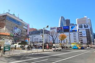 新宿駅東口の写真素材 [FYI01663268]