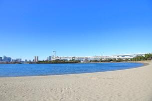 お台場海浜公園の写真素材 [FYI01663393]
