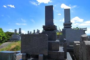墓場の写真素材 [FYI01663564]