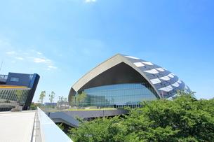 武蔵野の森総合スポーツプラザ 調布市の写真素材 [FYI01663778]