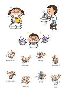 保険・医療 手洗いうがい 予防のイラスト素材 [FYI01664105]