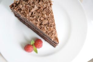 チョコレートケーキの写真素材 [FYI01664160]
