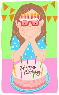 HAPPY BIRTHDAYのイラスト素材 [FYI01664228]