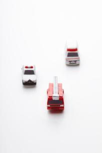 働く車のおもちゃの写真素材 [FYI01664538]