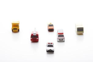 働く車のおもちゃの写真素材 [FYI01664585]