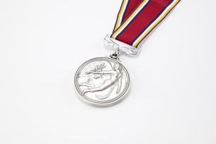 銀メダルの写真素材 [FYI01664969]