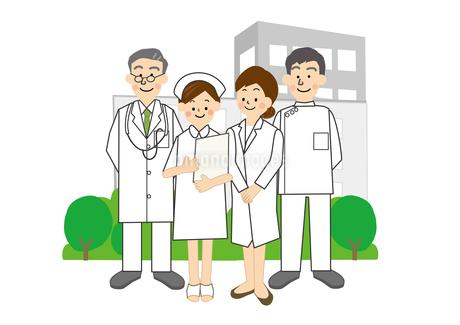 病院 医師 看護師のイラスト素材 [FYI01665428]