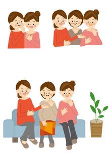 会話 女性のイラスト素材 [FYI01665441]
