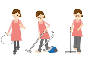 家事 掃除のイラスト素材 [FYI01665478]