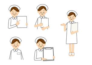 看護師のイラスト素材 [FYI01665510]
