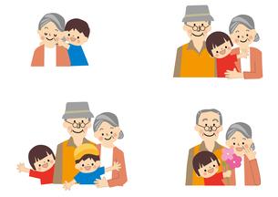 高齢者 敬老の日のイラスト素材 [FYI01665528]