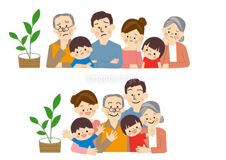 家族 ファミリー のイラスト素材 [FYI01665659]