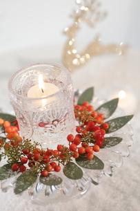 クリスマスアレンジの写真素材 [FYI01666265]