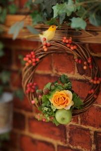 クリスマスアレンジの写真素材 [FYI01666271]
