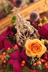 クリスマスアレンジの写真素材 [FYI01666277]